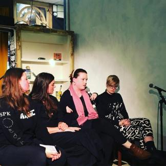 Speaking with legends Cait Elizabeth, Ruth O'Brien and Lucy Hutchens